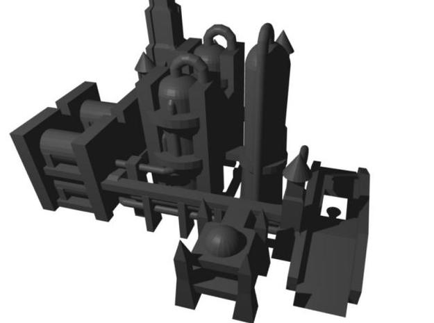 Gothic Refinery 3d printed Refinery