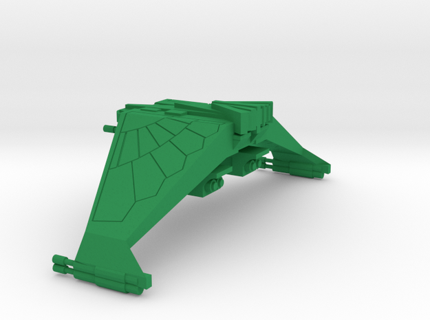 3125 Wing of Retribution in Green Processed Versatile Plastic