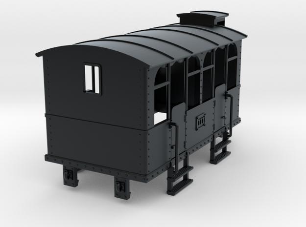 HOe-wagon04 - Crate of passenger wagon N°2