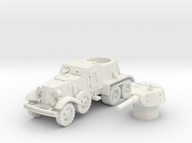 BA 36 with tracks (Soviet) 1/87 in White Strong & Flexible