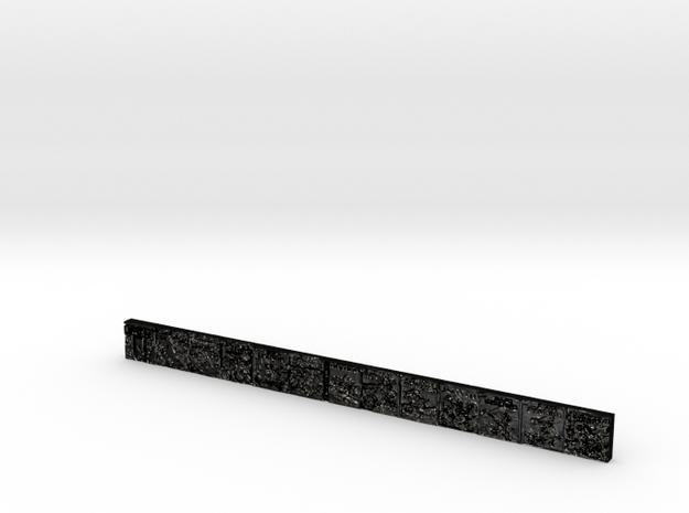 meydantwelveinchtestruler000000 in Matte Black Steel