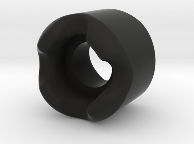 36MM Skateboard KING Wheel  in Black Natural Versatile Plastic