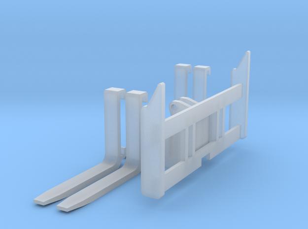 1:50 Forks for 963D track loader.  in Smooth Fine Detail Plastic