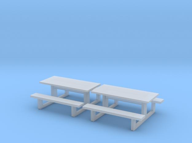 TJ-H01142x2 - Tables en béton in Smooth Fine Detail Plastic