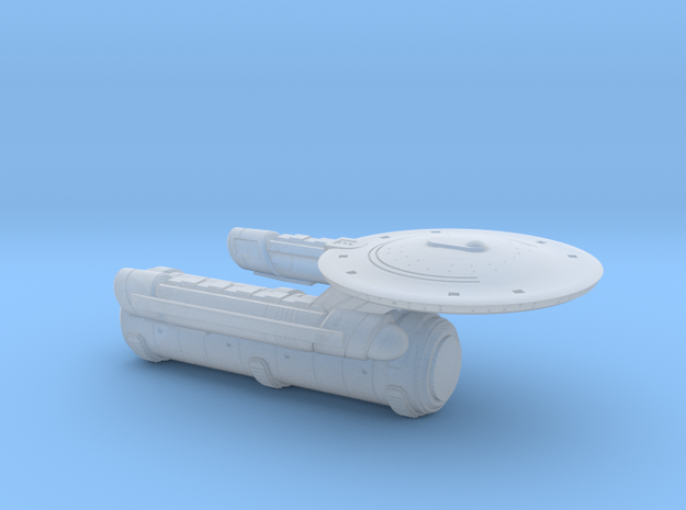 Terran Aristotle Class Tug/Transport - 1:7000 in Frosted Ultra Detail