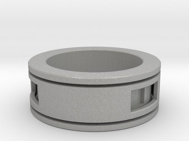 CalebPlatt Id1012 Ring3 in Raw Aluminum