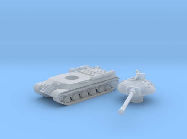 IS-3 Tank (Russian) 1/200 in Smooth Fine Detail Plastic