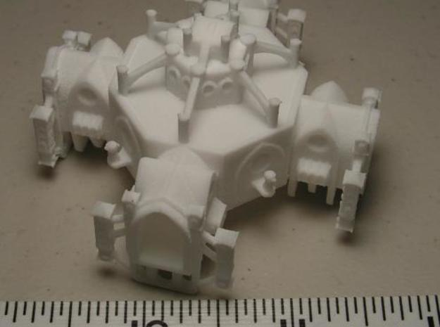 Gothic Space Station 3d printed Photo 3