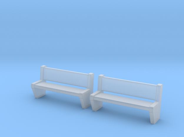 TJ-H04554x2 - bancs de quai en béton in Frosted Ultra Detail