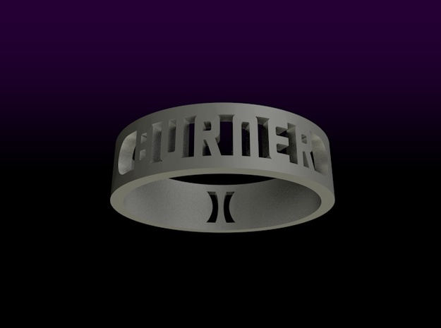 BlakOpal Burner Ring - size 4.5 3d printed