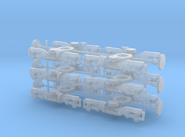 C3000/40000 bogies 1/148 in Frosted Ultra Detail