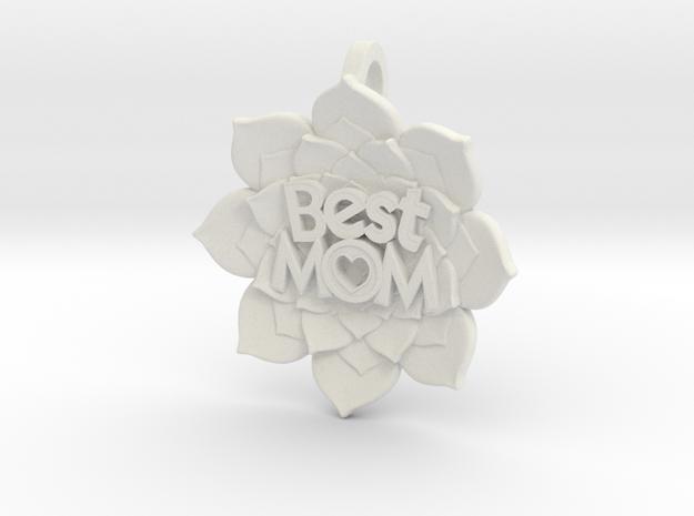 Mother's Day - Flower Pendant #BestMom