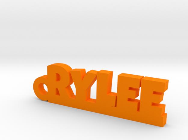 RYLEE Keychain Lucky in Orange Processed Versatile Plastic