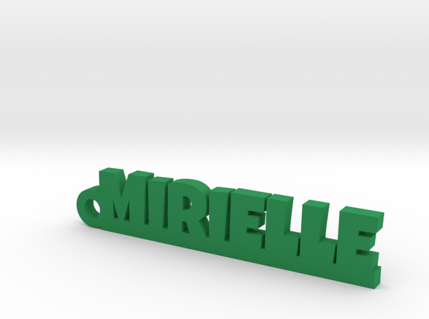 MIRIELLE Keychain Lucky in Green Processed Versatile Plastic