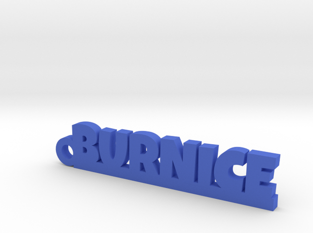 BURNICE Keychain Lucky in Blue Processed Versatile Plastic