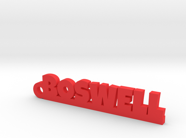 BOSWELL Keychain Lucky in Red Processed Versatile Plastic