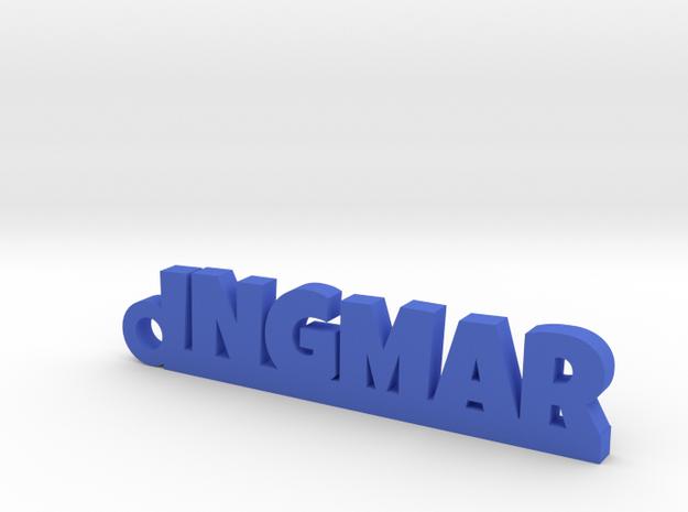 INGMAR Keychain Lucky in Blue Processed Versatile Plastic