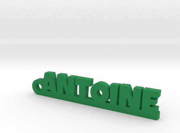 ANTOINE Keychain Lucky in Green Processed Versatile Plastic