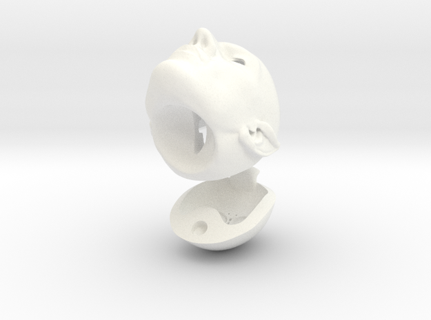 Spock Nimoy Tribute 048 SD Samengevoegd Ready To P in White Processed Versatile Plastic