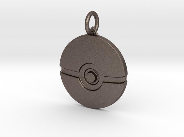 Pokeball pendant in Stainless Steel