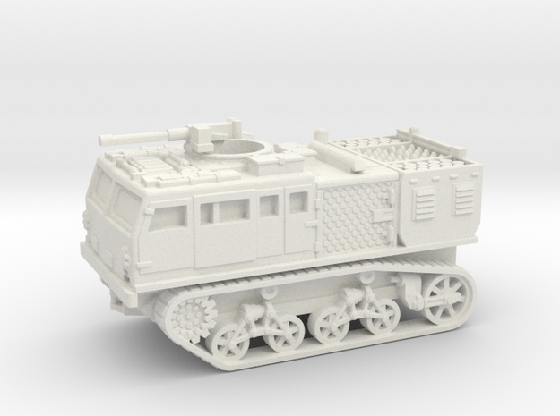 M4 tractor (USA) 1/87 in White Natural Versatile Plastic