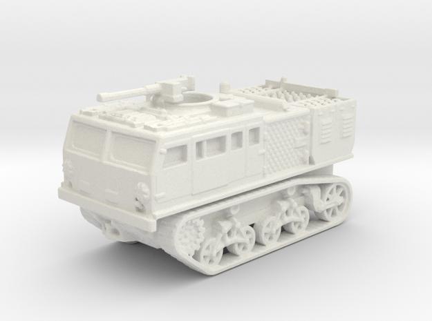 M4 tractor (USA) 1/144 in White Natural Versatile Plastic