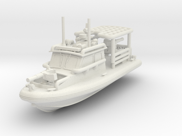 1/144 SeaArk Dauntless Class Patrol Boat (Coastal  in White Strong & Flexible