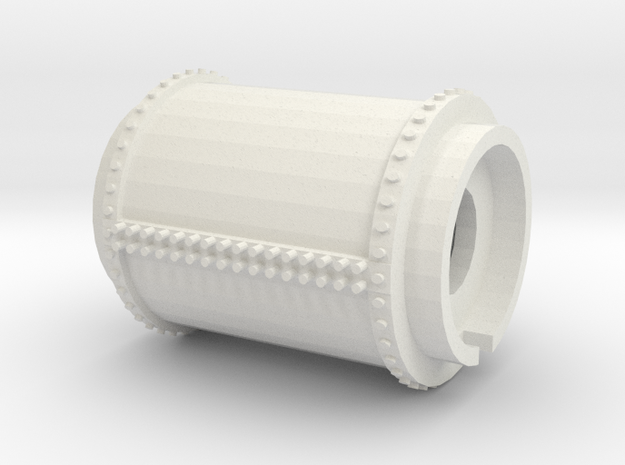 Part 5 - Gas Tank (Right hand) midsection in White Natural Versatile Plastic