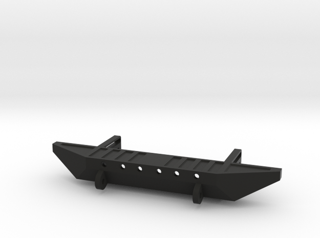 Rear Bumper with Shackles for AXIAL SCX10 in Black Strong & Flexible