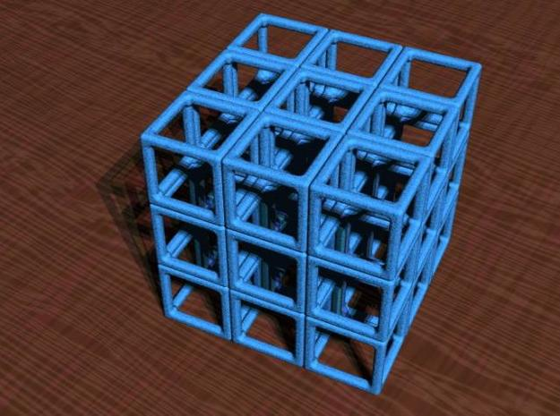 Puzzle Cube 1 3d printed The basic assembly