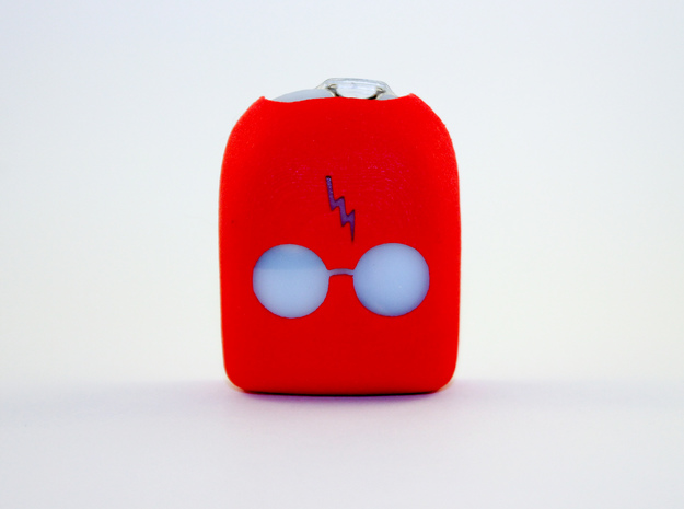 Harry Podder - Omnipod Pod Cover in Red Processed Versatile Plastic