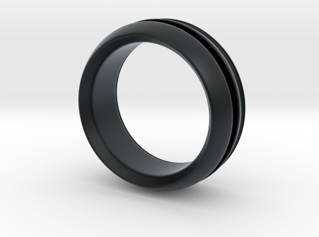 Modern+inset in Black Hi-Def Acrylate: 6 / 51.5