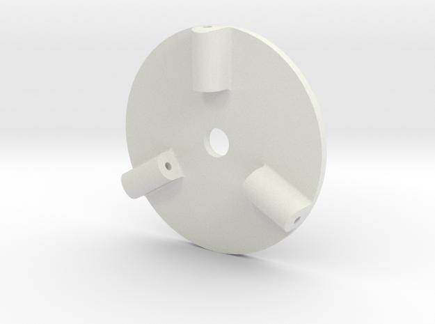 Pica FW190 D9 Propeller Spinner Base in White Natural Versatile Plastic