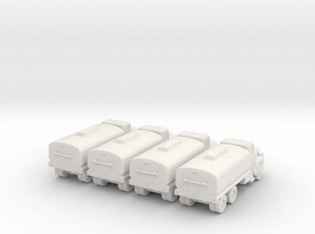 Mack Tanker - Set of 4 - 1:200scale