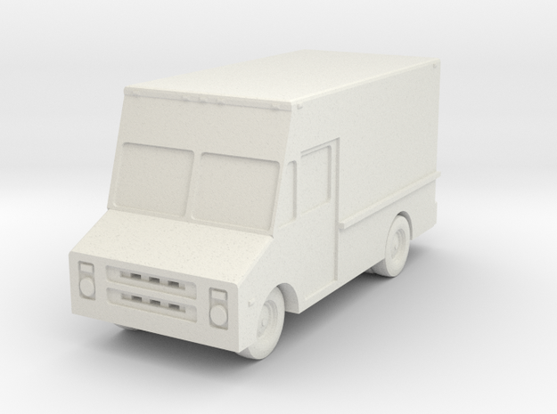 Stepvan 10 - 1:200scale in White Strong & Flexible