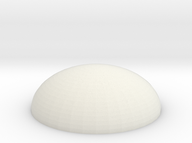 Dome Base in White Strong & Flexible