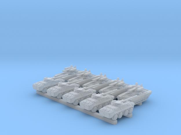 1/700 Scale Russian Modern Tank Set 3