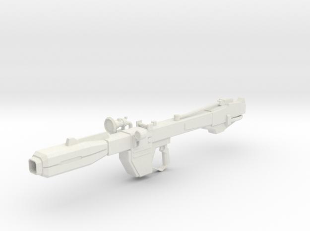 Beam Bazooka 1-100 in White Natural Versatile Plastic
