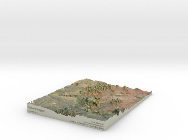 Sedona Arizona Map: 8.5x11
