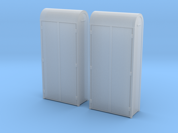 TJ-H04656x2 - Armoires electriques metalliques in Smooth Fine Detail Plastic