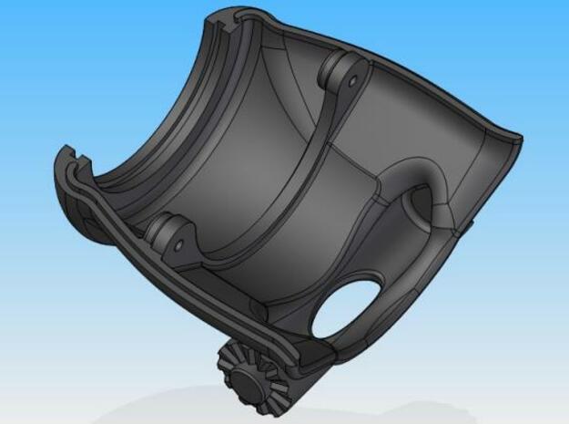 LHL-Lower shell 3d printed Description