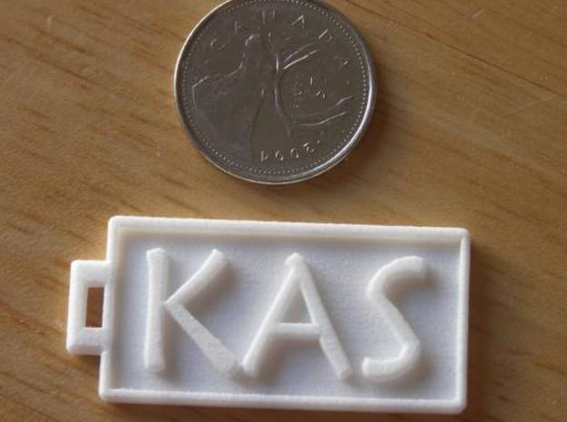 KAS Dogtag 3d printed Photo2