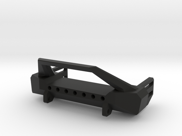 Front Bumper for Axial SCX10 in Black Strong & Flexible