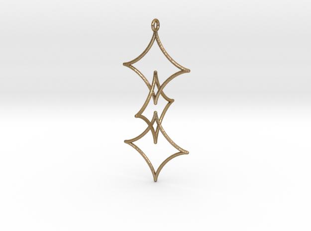 Interlocked Astroid Pendant