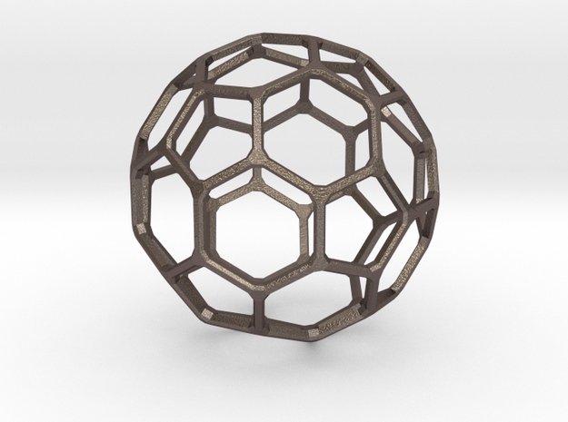 Buckyball Mini in Stainless Steel