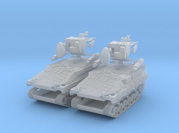 2x Flugabwehrpanzer Roland 1:200