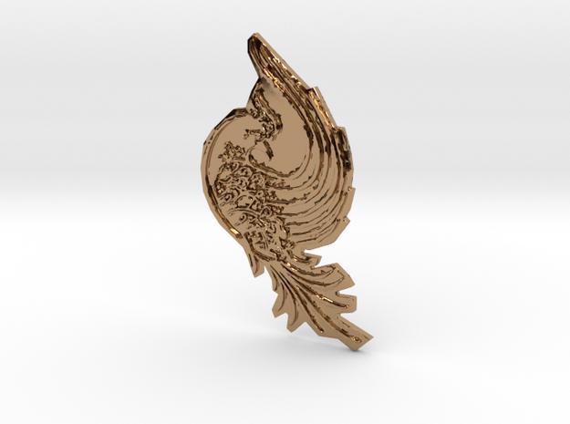 Bird in Polished Brass