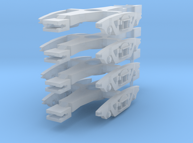 Gloucester FastFreight Bogies in Smoothest Fine Detail Plastic