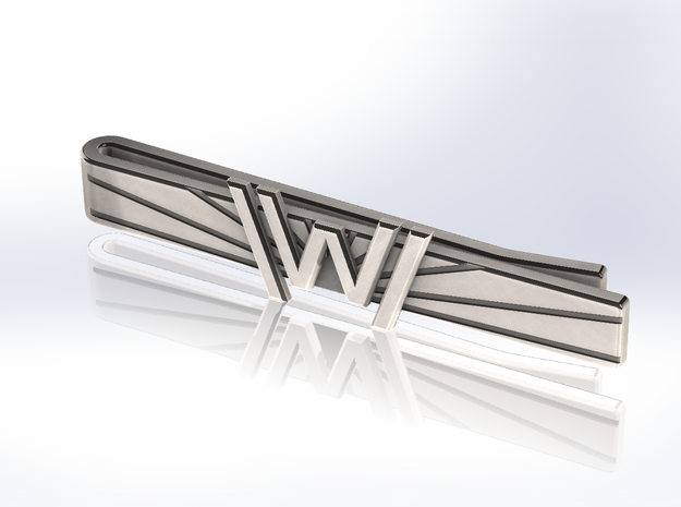 Westworld Tie Clip [Sunrise Edition] in Stainless Steel