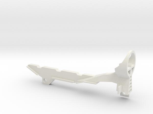 Longshot Barrel Sight3 in White Natural Versatile Plastic